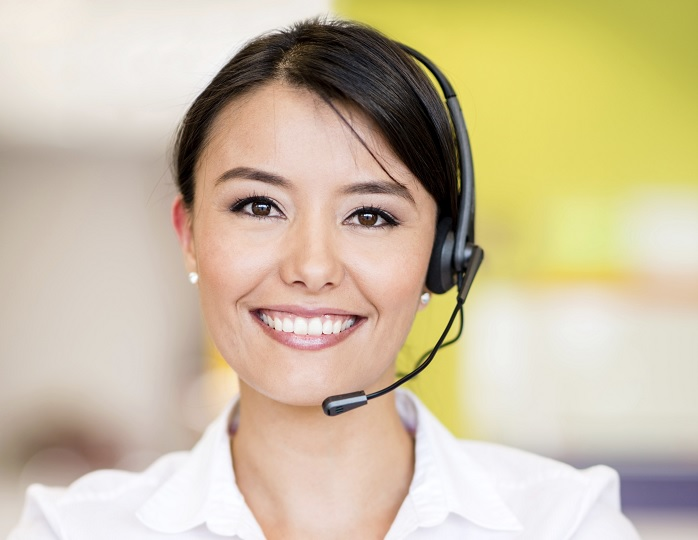Female Interpreter Smiling - Cropped