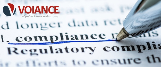 V Compliance header - color